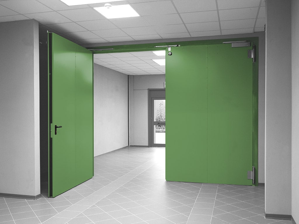 "Single and double leaf ""Magnum"" technical large door"